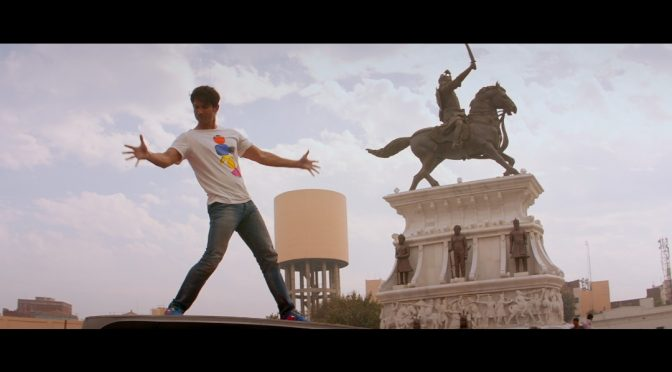 Sushant Singh Rajput does the King Khan step in Sadda Move