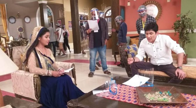 & TV's 3 more shows resumes shoot today : Bhabhiji Set Par Hain