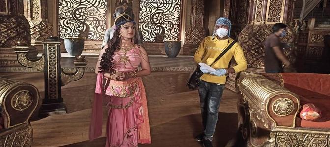 &TV starts shooting for Kahat Hanuman Jain Shri Ram