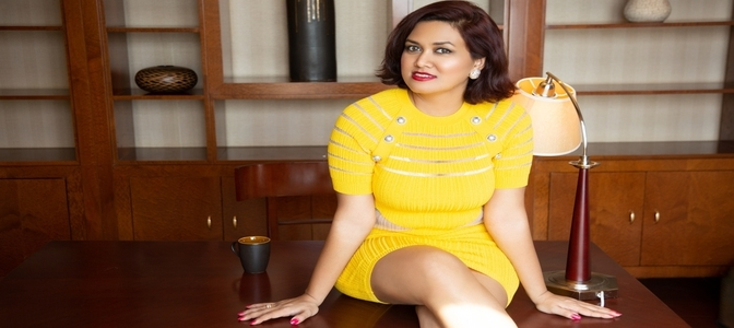 CEO of VU Technologies  Devita Saraf is the cover girl for Hello Magazine's June Issue