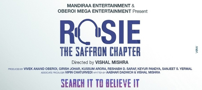 After Iti, Mandiraa and Vivek Anand Oberoi announce their second film with Vishal Mishra, ROSIE – THE SAFFRON CHAPTER