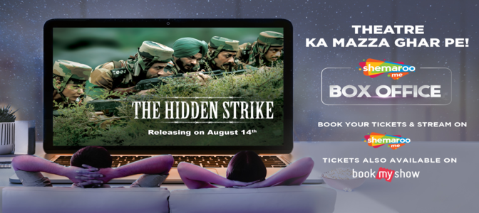 """""""The Hidden Strike"""" packs a patriotic punch, arrives on ShemarooMe Box Office this Independence Day"""