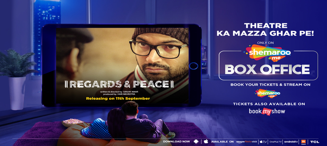 """ShemarooMe Box Office to release """"Regards & Peace"""", a riveting murder mystery"""