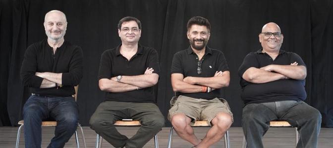 Anupam Kher and Satish Kaushik to shoot for director Vivek Ranjan Agnihotri's 'The Last Show'