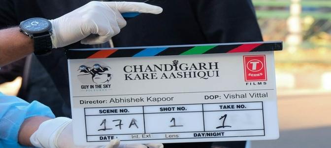 Abhishek Kapoor's directorial, a modern love story, titled 'Chandigarh Kare Aashiqui'