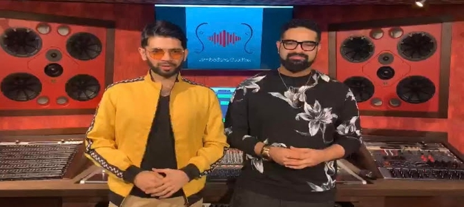 Siddharth and Souumil will create an original music track live in front of the audience