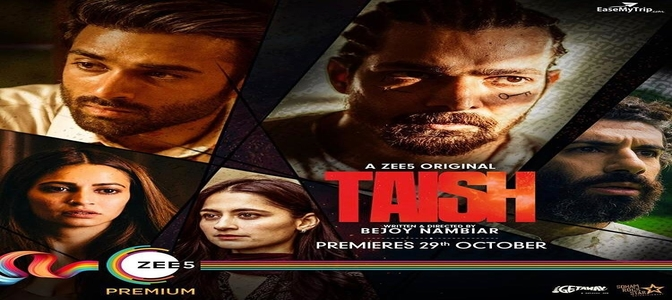 Sneak-peek of the first look of the characters : 'TAISH' Posters Out Now