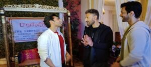 The New Bromance on sets of web series 'The Perfect Script'