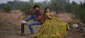 "Monalisa Bagal and Abhijit Amkar in music video ""Man Unad Unad"""