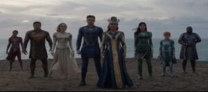 Marvel Studios' ETERNALS teaser trailer and poster out