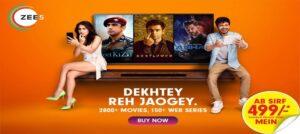 ZEE5's new brand campaign 'Dekhtey Reh Jaogey' with Sara Ali Khan and Amol Parashar
