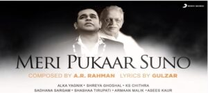 Sony Music India brings Legends A.R. Rahman & Gulzar together